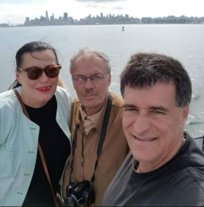 Radka and Roman Gronsky and Steve Lipman